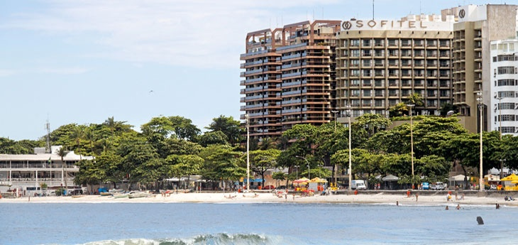 The Sofitel Rio De Janeiro Copacabana Front View
