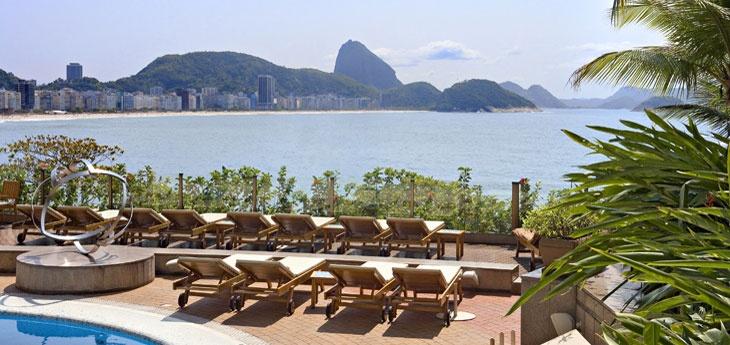 The Sofitel Rio De Janeiro Copacabana Swimming Pool