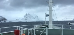 View from the M/v Plancius