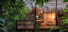 Anavilhanas Lodge - cabin exterior