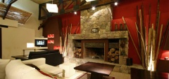 Posada con los Angeles - Fireplace