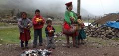 Children at Huacahuasi