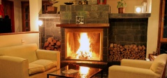 Macondo House - Fireplace