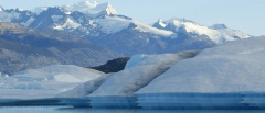 El Calafate and El Chalten -Glacial lake