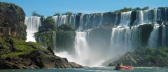 The Iguazu Falls - view