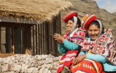 Local women from Huacahuasi © Mountain Lodges of Peru